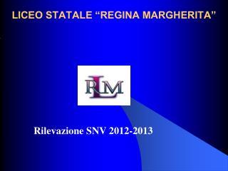 "LICEO STATALE ""REGINA MARGHERITA"""