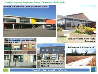 Salle polyvalente Jean Ferrat à Escautpont