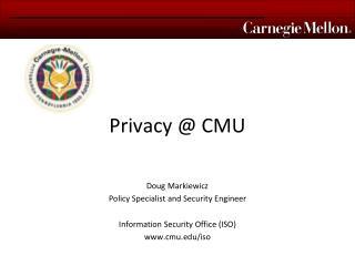 Privacy  CMU