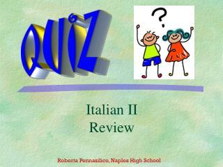 Italian II Review