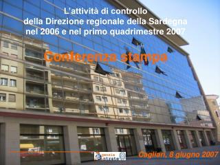 Cagliari, 8 giugno 2007
