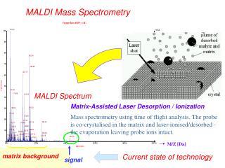 MALDI Mass Spectrometry