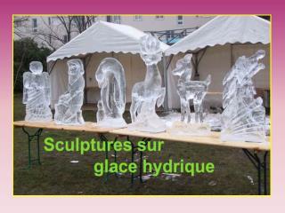 Blocs de        glace  de 130 à  150 kg Parfaitement transparents