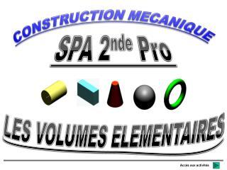 CONSTRUCTION MECANIQUE