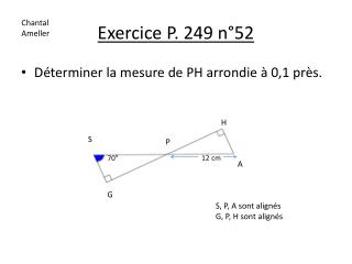 Exercice P. 249 n°52