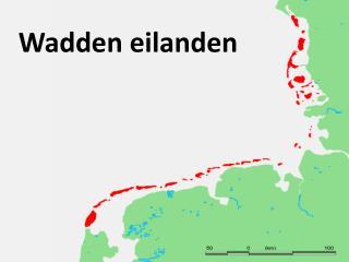 Wadden eilanden