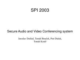 SPI 2003