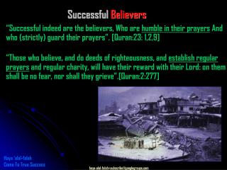 Successful  Believers
