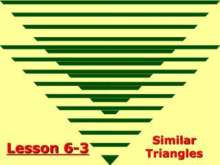 Lesson 6-3