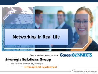 Networking In Real Life