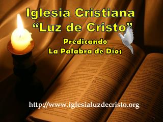 Iglesia Cristiana  �Luz de Cristo �