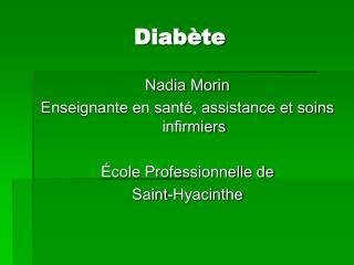 Diabète