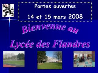 Bienvenue au Lycée des Flandres