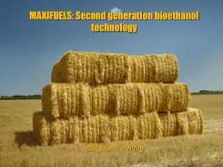 MAXIFUELS: Second generation bioethanol technology