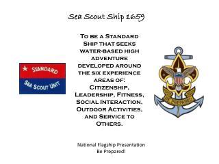 Sea Scout Ship 1659