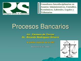 Procesos Bancarios