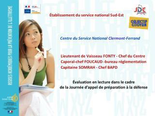 Centre du Service National  Clermont- Ferrand