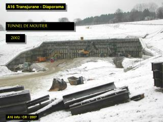 A16 Transjurane - Diaporama