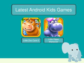 Latest Android Game for kids