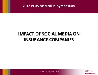 IMPACT OF SOCIAL MEDIA ON INSURANCE COMPANIES