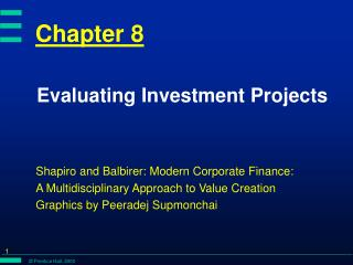 Evaluating Investment Projects