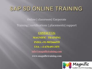 sap sd online training canada