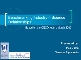 Benchmarking Industry – Science Relationships