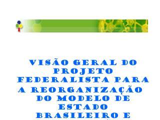 Visão geral do Projeto Federalista para