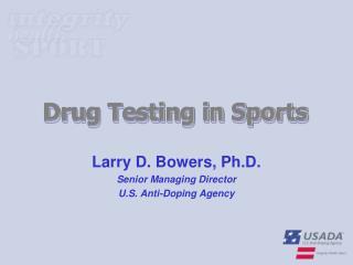 Drug Testing in Sports