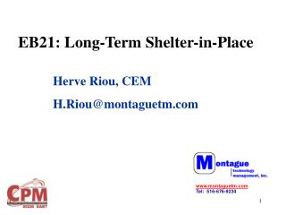 EB21: Long-Term Shelter-in-Place