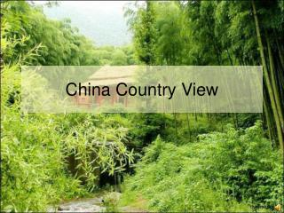 China Country View
