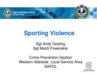Sporting Violence