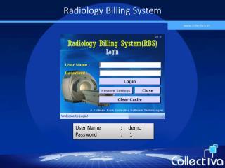 Radiology Billing System