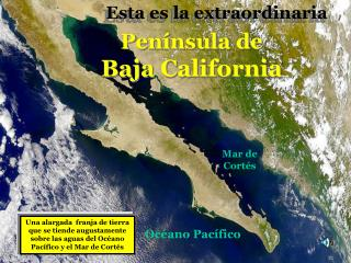Península de Baja California