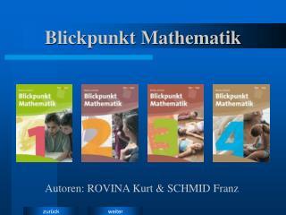 Blickpunkt Mathematik