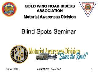 Blind Spots Seminar