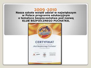 2009 -2010