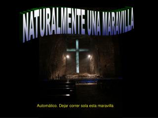 NATURALMENTE UNA MARAVILLA