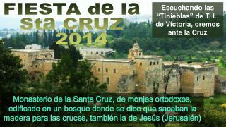 """Escuchando las """"Tinieblas"""" de T. L. de Victoria, oremos ante la Cruz"""