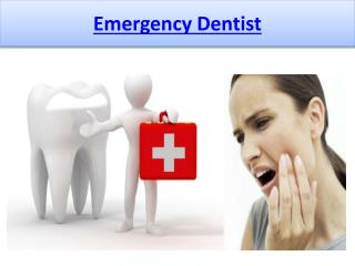 Emergency Dentist - Your Savior in an Emergency