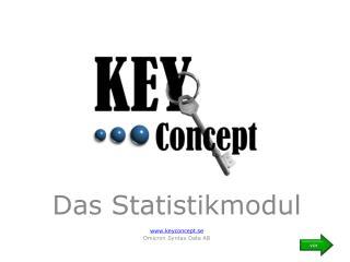 Das Statistikmodul keyconcept.se Omicron Syntax Data AB