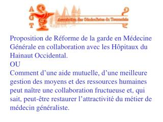 Historique Installations Médecins …