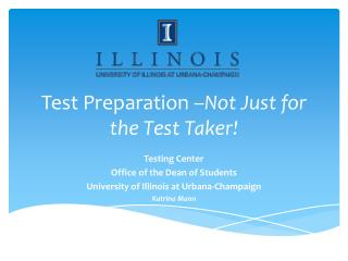 Test Preparation – Not Just for the Test Taker!