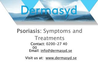 Psoriasis: Symptoms and Treatment