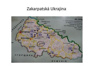 Zakarpatská Ukrajina