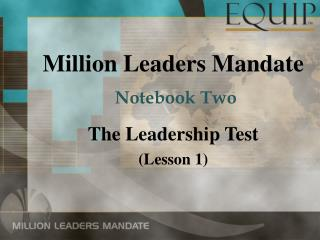 Million Leaders Mandate