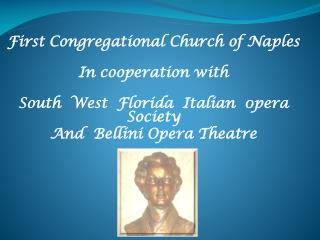 First Congregational Church of Naples In cooperation with