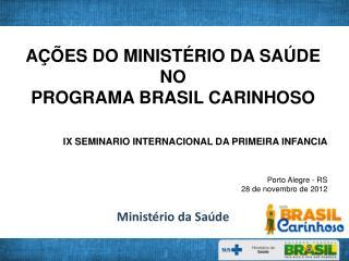 Minist�rio da Sa�de
