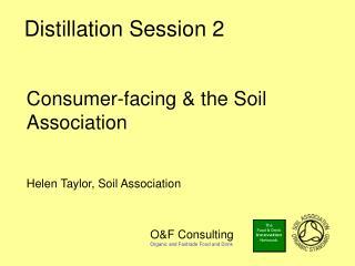 Distillation Session 2