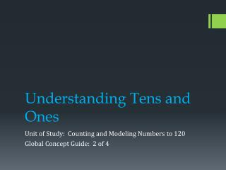Understanding Tens and Ones